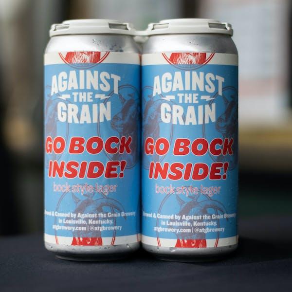New Beer Release: Go Bock Inside