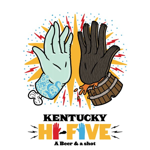 What is a Kentucky Hi-Five?
