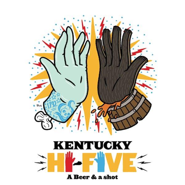 What is a Kentucky Hi-Five?