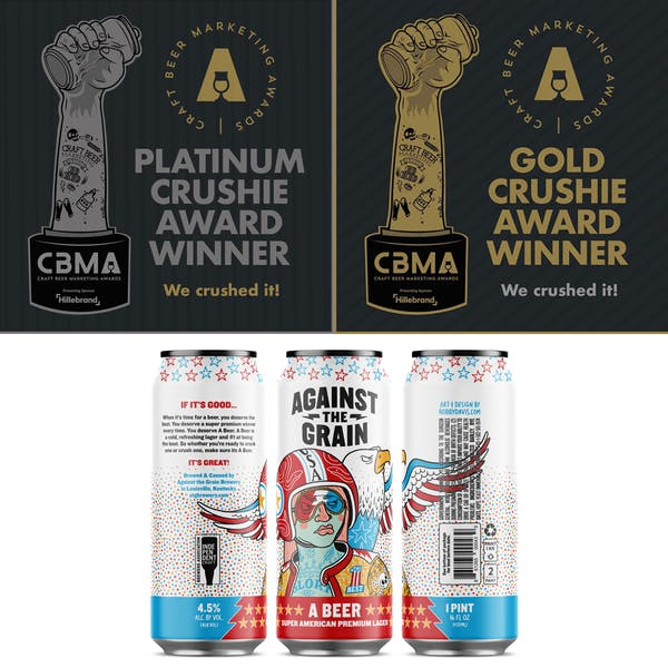 We Won Two Crushie Awards at 2020 Craft Beer Marketing Awards!