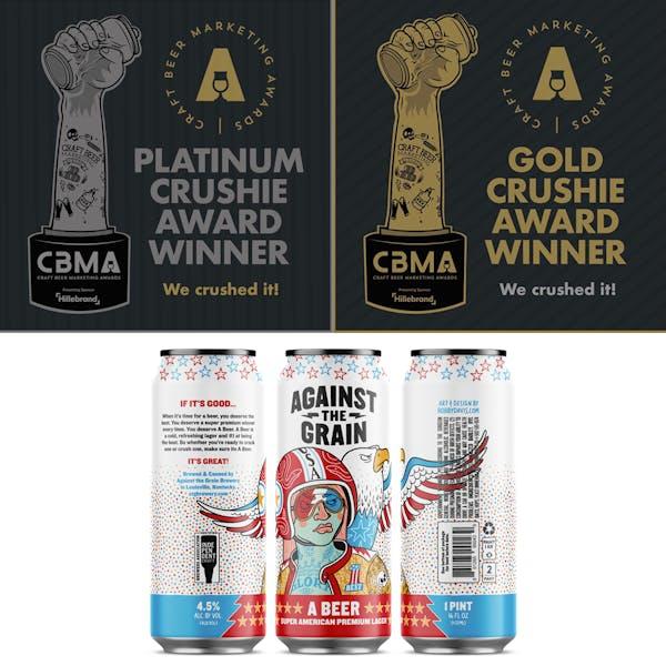 We Won Two Crushie Awards at 2020 Craft Beer Marketing Awards!