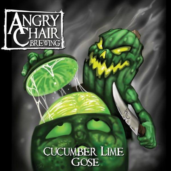 Label - Cucumber Lime
