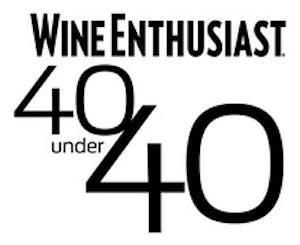 Wine Enthusiast_40 Under 40 Tastemaker