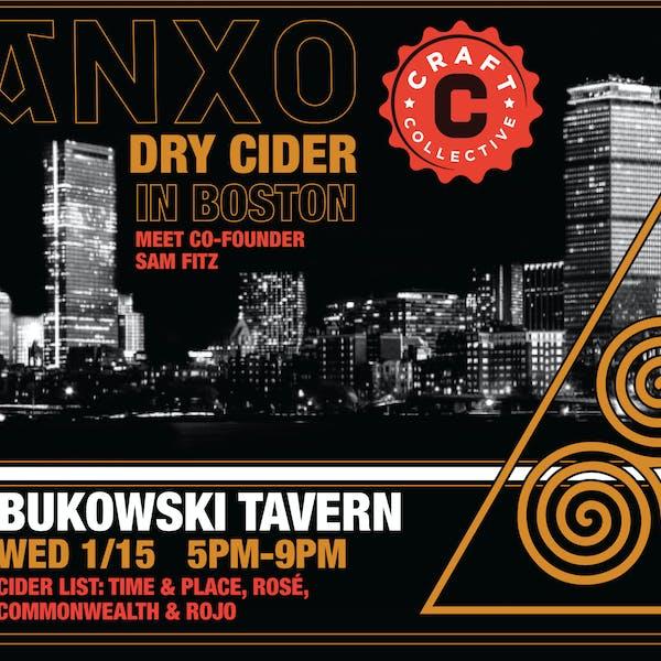 ANXO at Bukowski Tavern