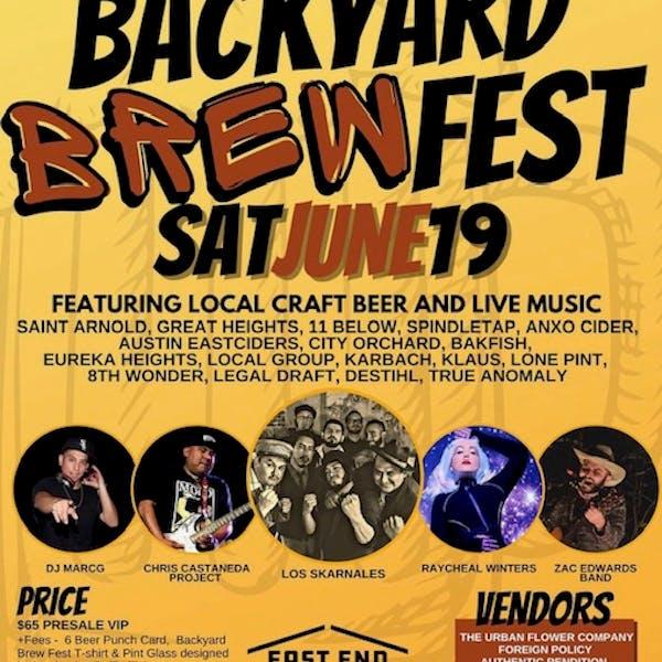 Backyard Brewfest – TX