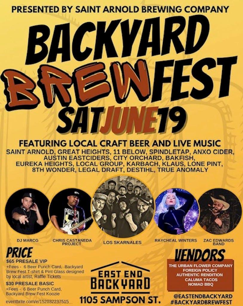 Backyard Brew Fest with ANXO Cider