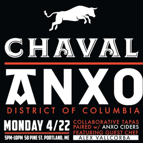 ANXO & CHAVAL Collaboration Dinner