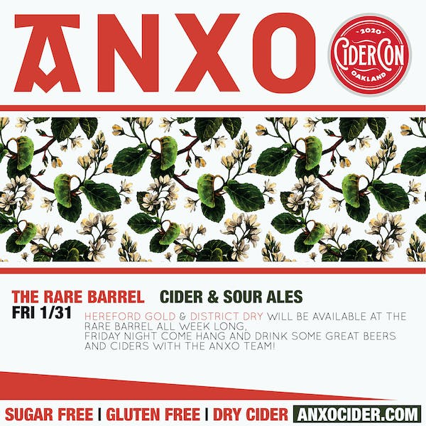 ANXO Cider at The Rare Barrel