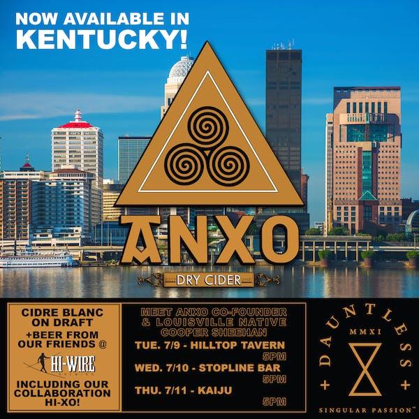 ANXO Louisville KY Launch Week!