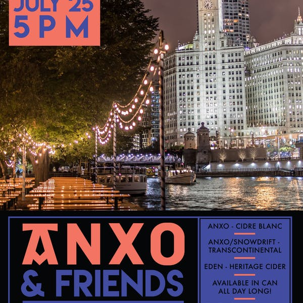 ANXO & Friends @ The Northman Beer & Cider Garden Riverwalk