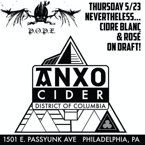 ANXO Cider Philly Launch at P.O.P.E.