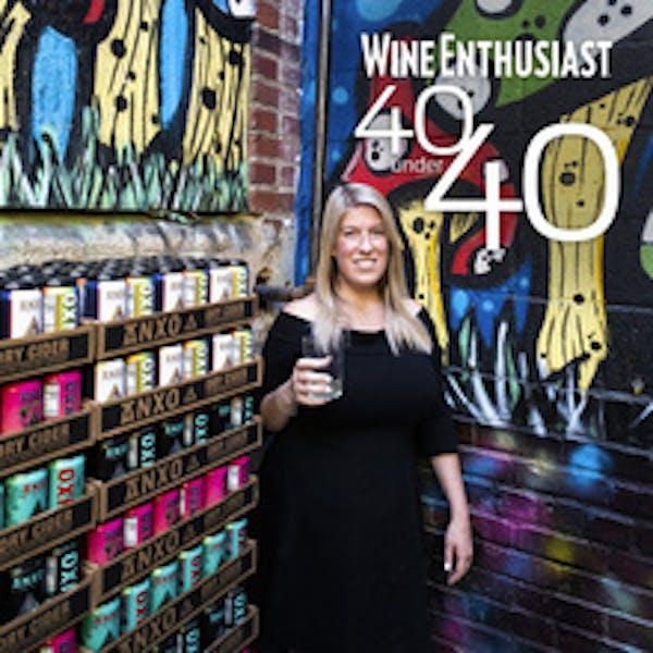 ANXO's Rachel Topelius, 40 Under 40 Tastemaker by Wine Enthusiast