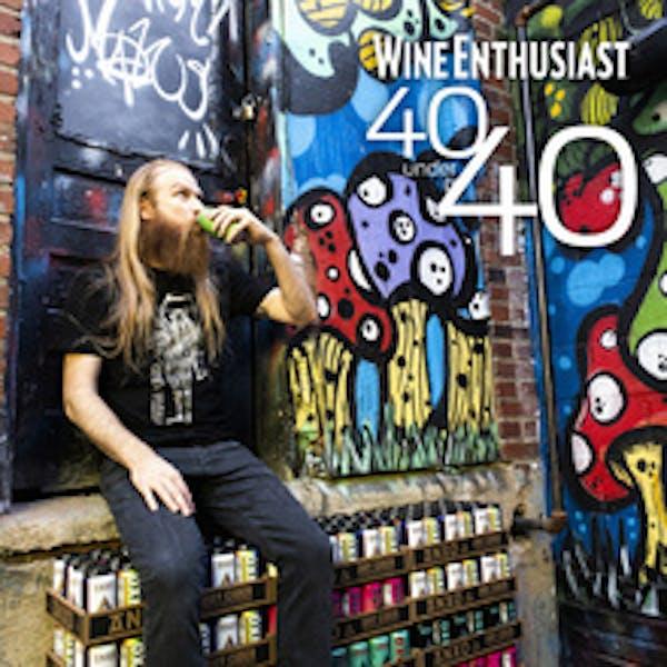 ANXO's Sam Fitz, 40 Under 40 Tastemaker by Wine Enthusiast