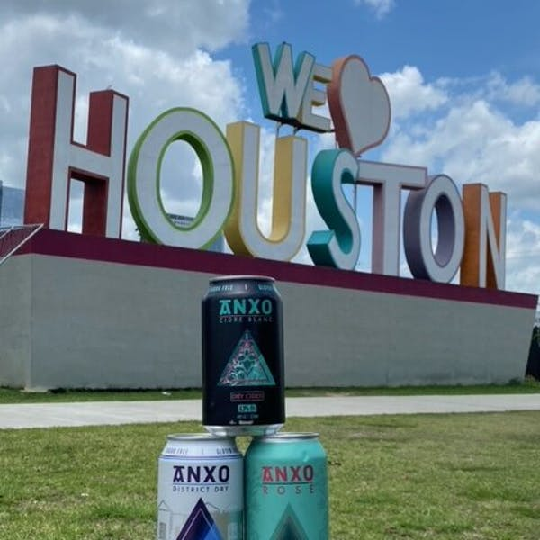 ANXO Dry Cider in Houston Texas