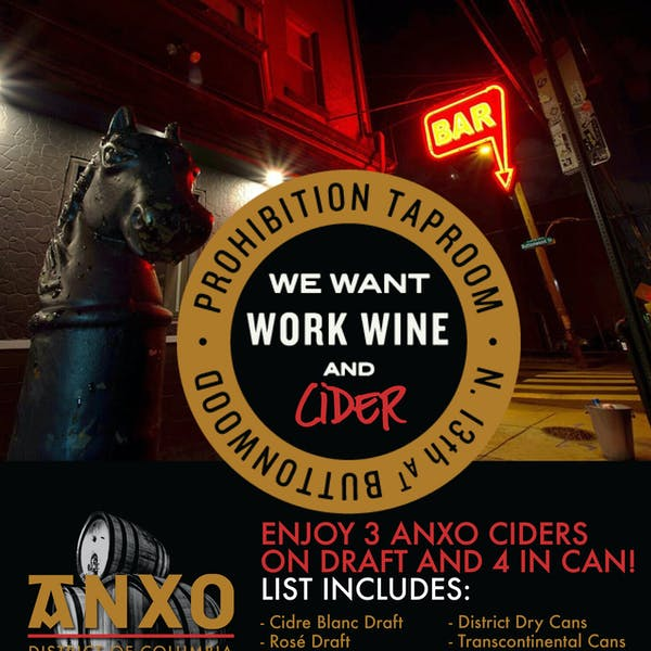 ANXO Philly Launch @ Prohibition Taproom