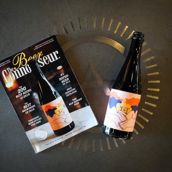 The Sage Belgian Strong Ale Makes Cover of Beer Connoisseur Magazine