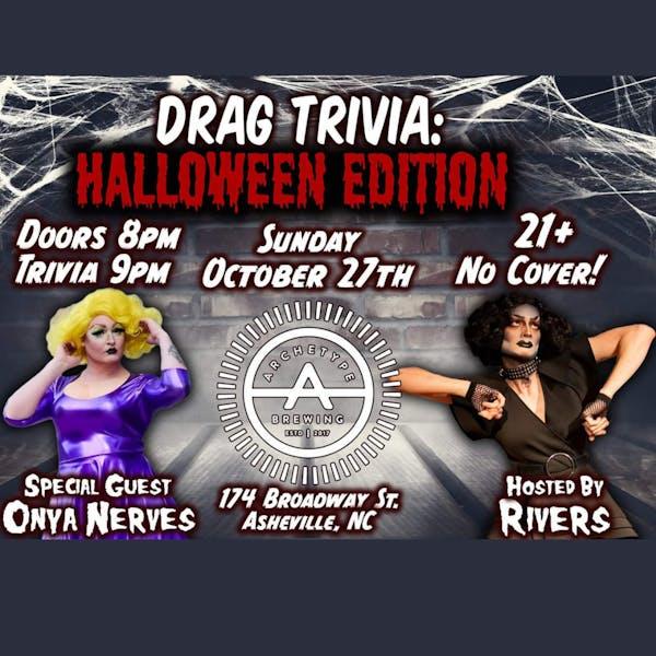 DRAG Trivia: Halloween Edition