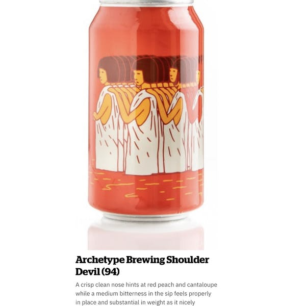 Shoulder Devil DIPA Receives 94/100 point Review from Craft Beer & Brewing Magazine