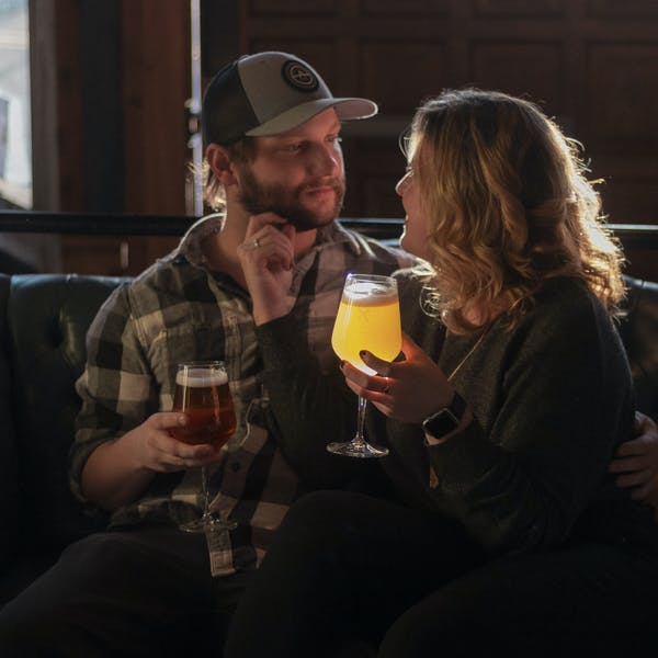 Engagement Photoshoot at The Tap Lounge