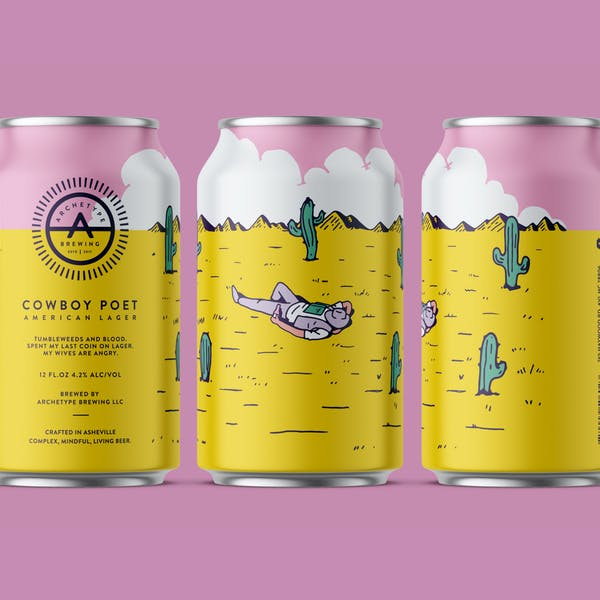 Cowboy Poet Wins 1st Place in USA Today 2020 Best Beer Label Competition