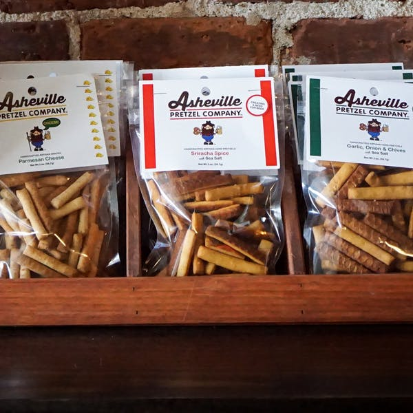 Archetype Brewing Snacks - Asheville Pretzels