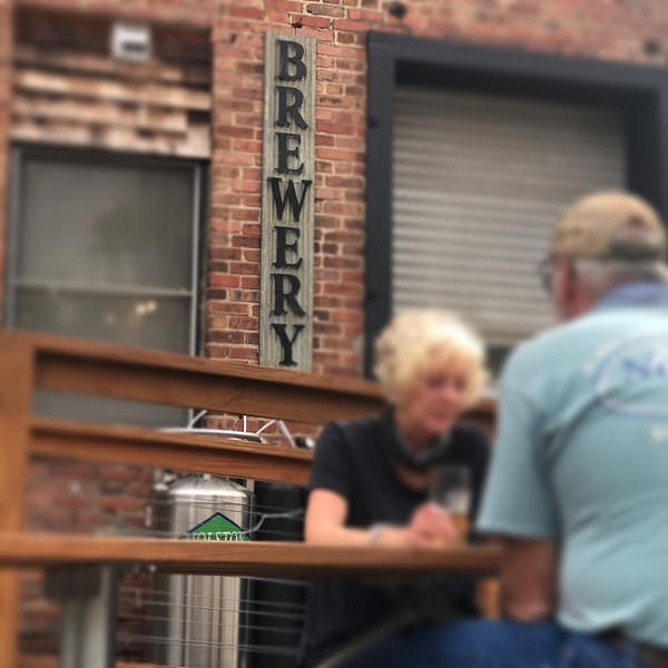 Archetype Brewing Tap Lounge + Venue outside seating