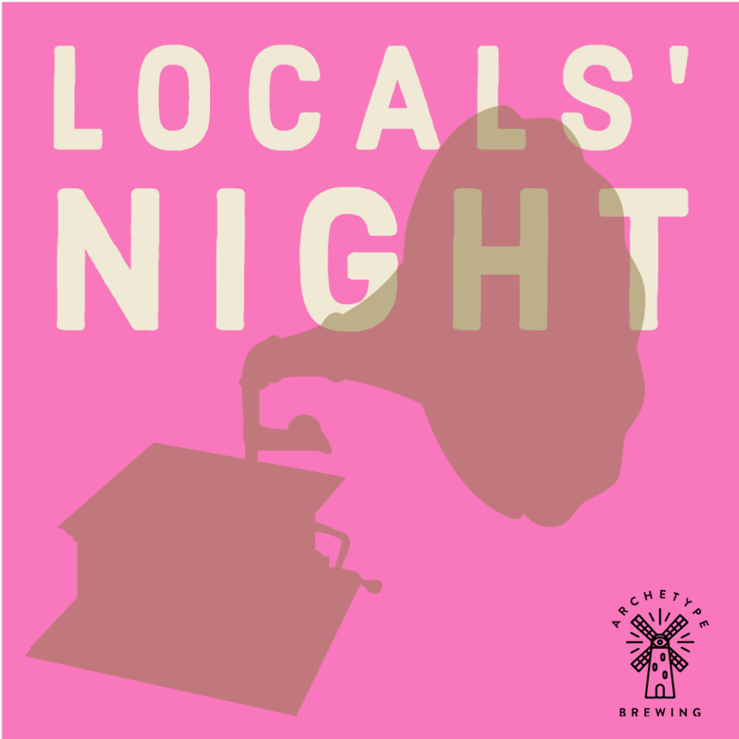 Local's Night Archetype Brewing Wed Tap lounge + Venue