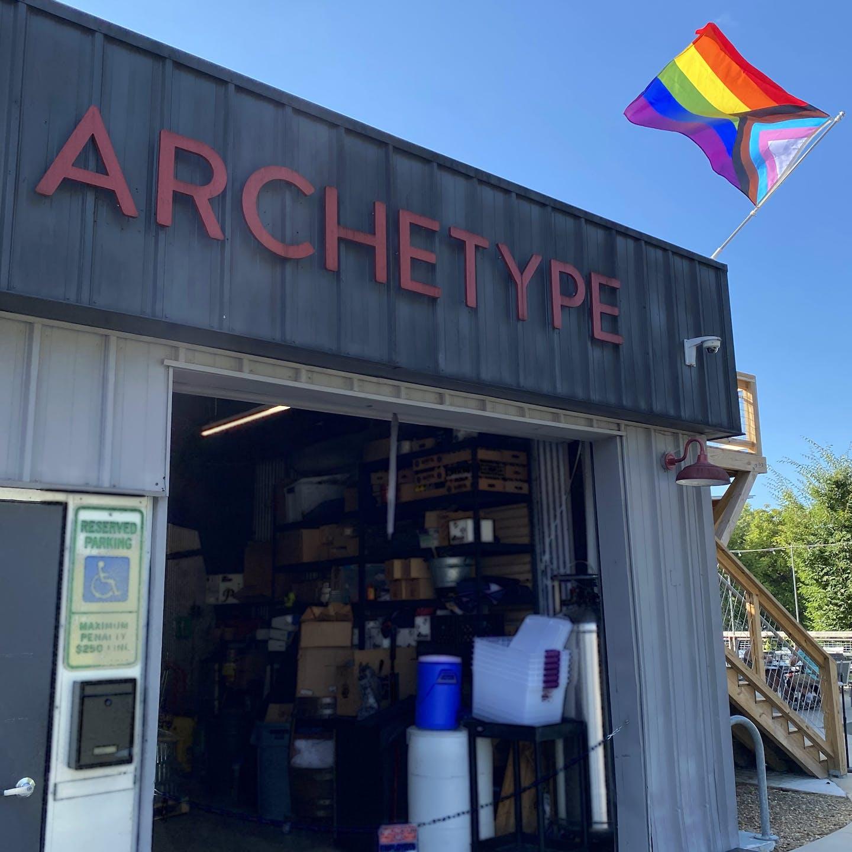 Pride Progress Flag Archetype