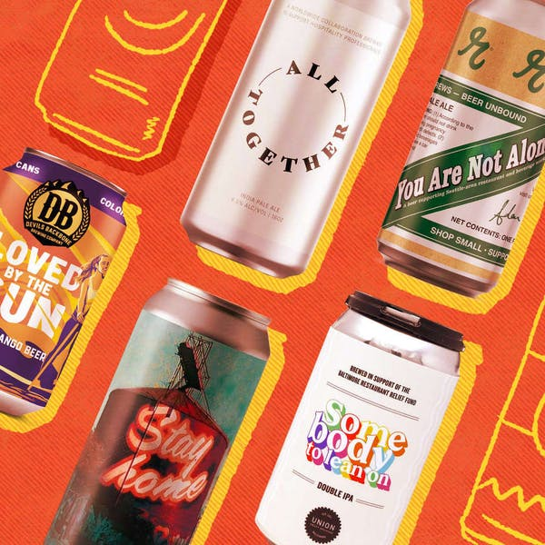 These Craft Beers Benefit the Service Industry and Frontline Workers