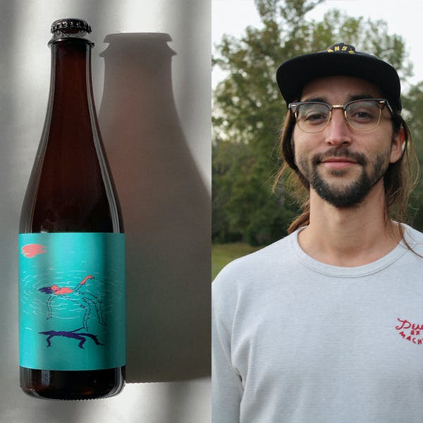 Meet the Artist Behind Archetype's Surreal, Ethereal Beer Labels – October Magazine