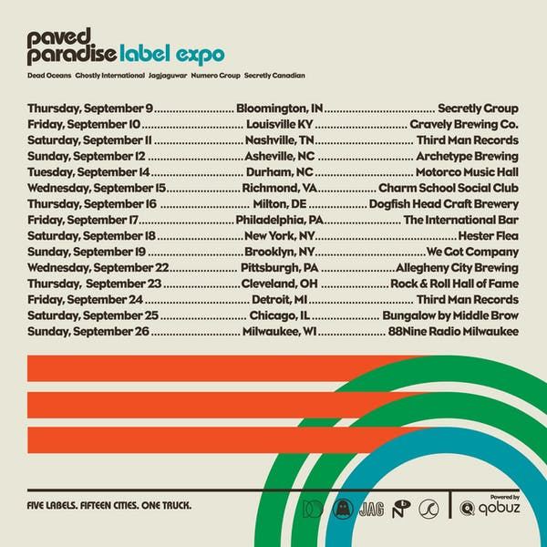 PAVED PARADISE LABEL EXPO