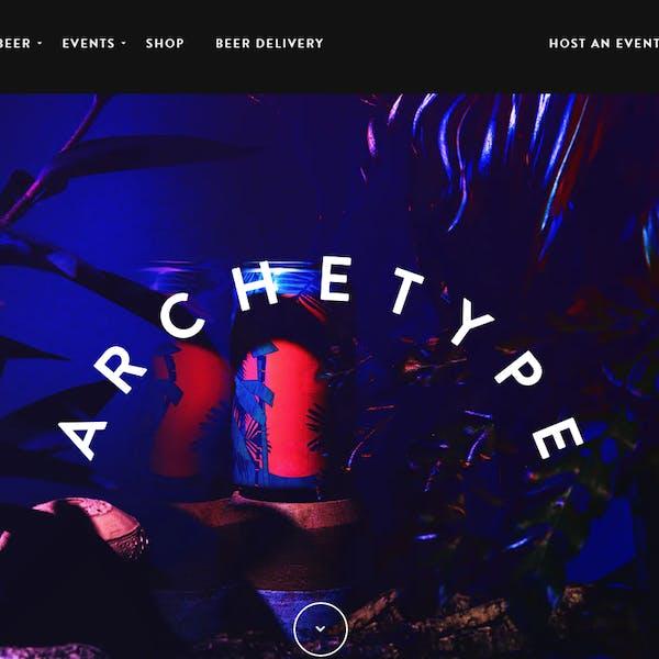 Archetype Brewing website