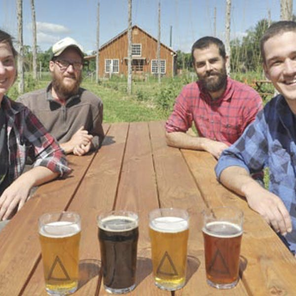 Newly opened Arrowood Farms microbrewery in Accord earns organic certification