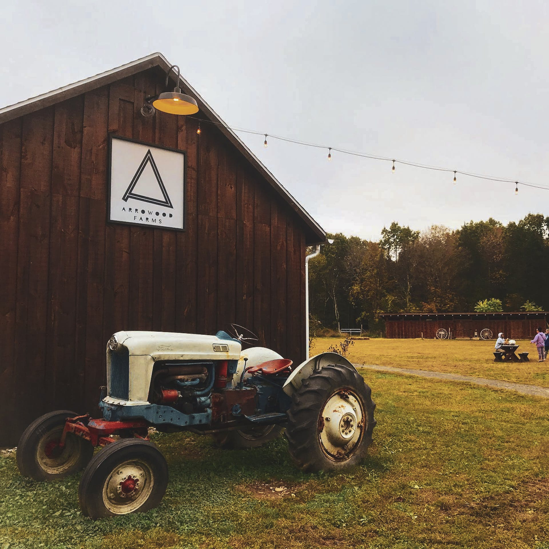Farm-tracktor
