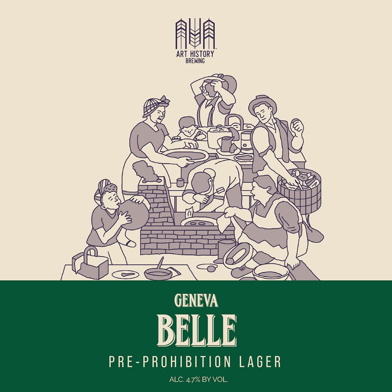 Belle-Beer Label