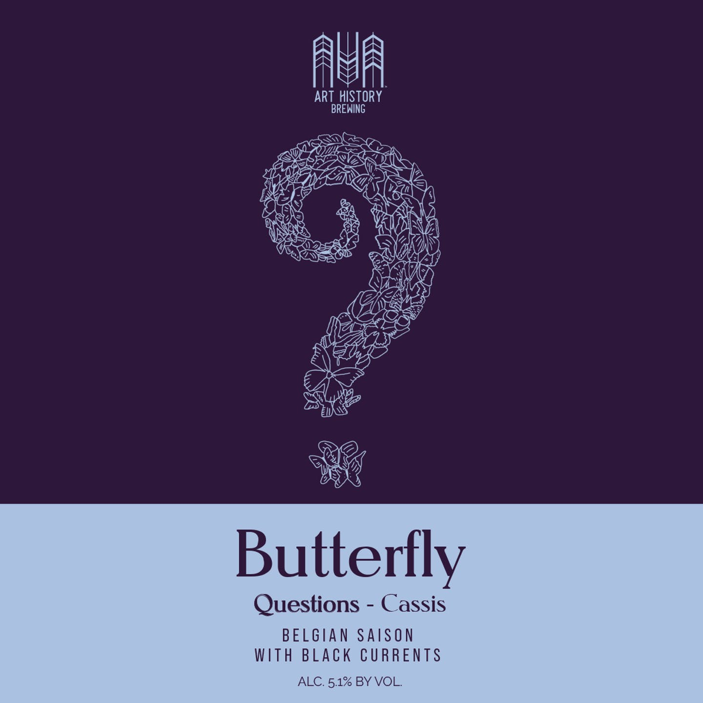 Butterfly Beer Label