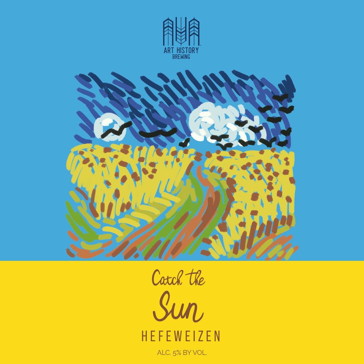 Sun Beer Label