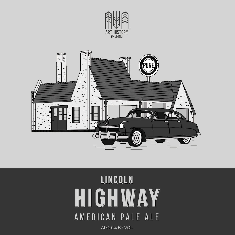 Pale Ale Beer Label