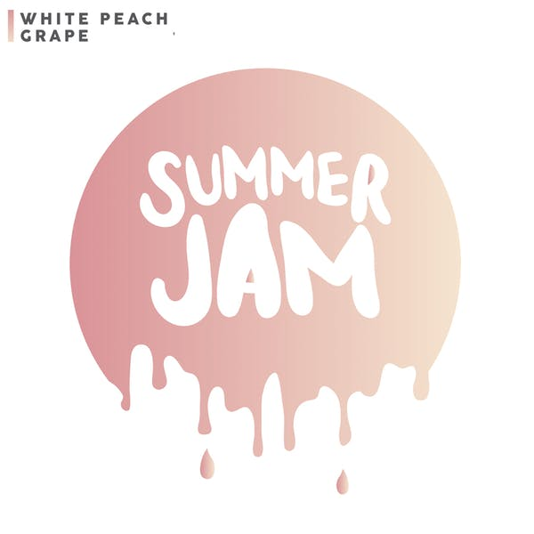 Summer Jam: White Peach Grape