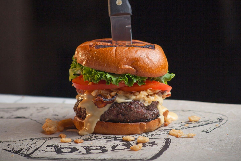 bBd's Prime Steakhouse Burger