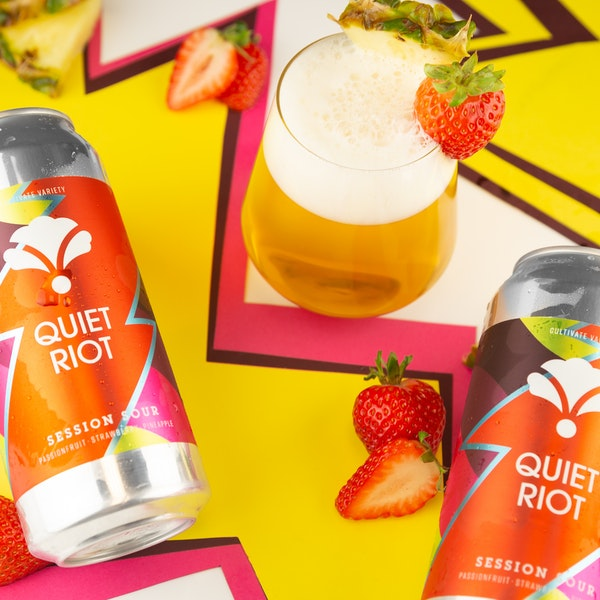 Image or graphic for Quiet Riot: passionfruit, strawberry, pineapple