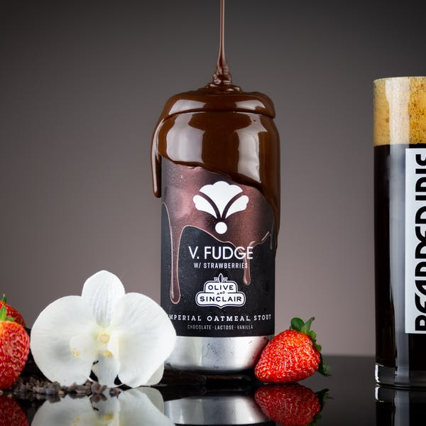 Image or graphic for V. Fudge w/strawberries: Olive & Sinclair