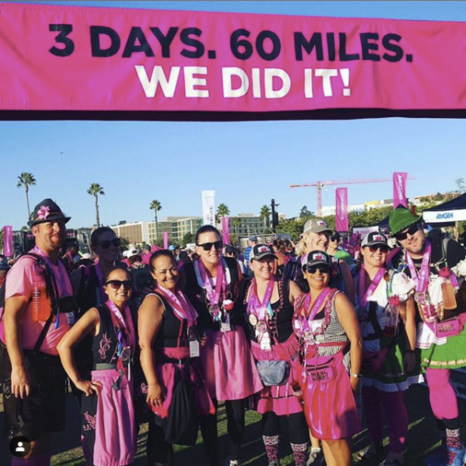 The end of the Race for the Cure
