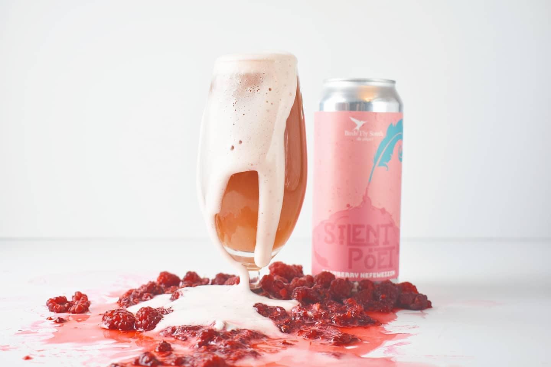 Silent Poet Hefeweizen beer
