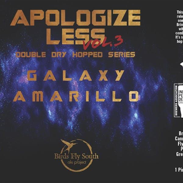 Apologize Less 3