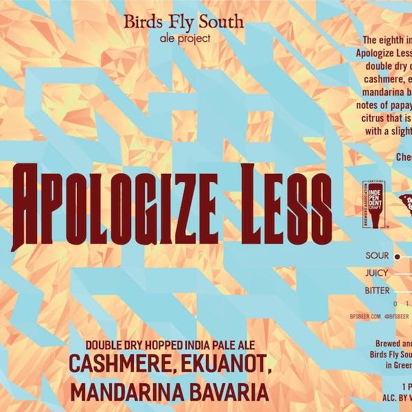 Apologize Less 8