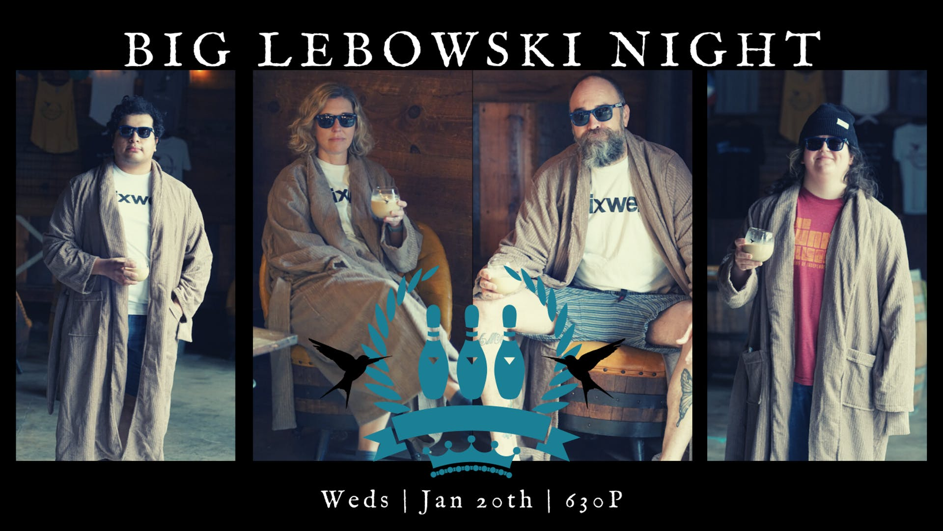 BIG LEBOSKI NIGHT - Cover