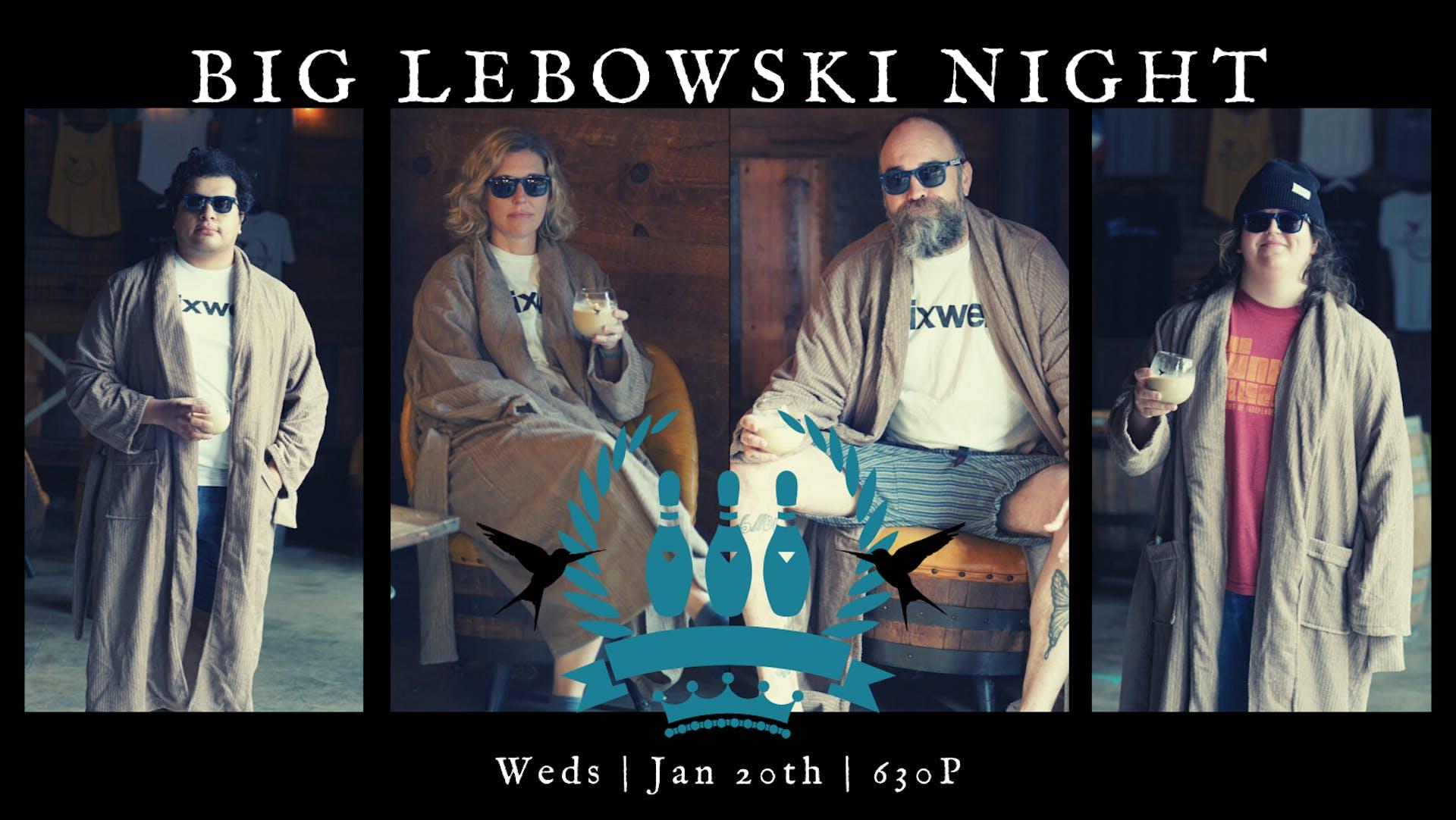 BIG LEBOSKI NIGHT - Cover