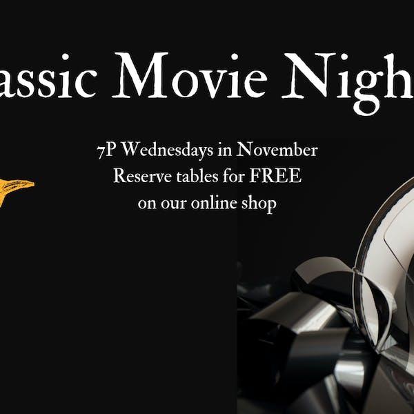 Classic Movie Nights | Week 3