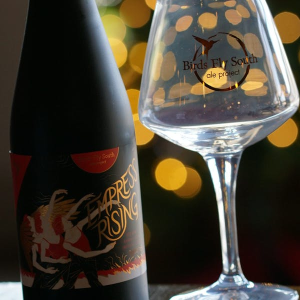 PorchDrinking.com Strong BA Series | Empress Rising Red Wine Imperial Stout